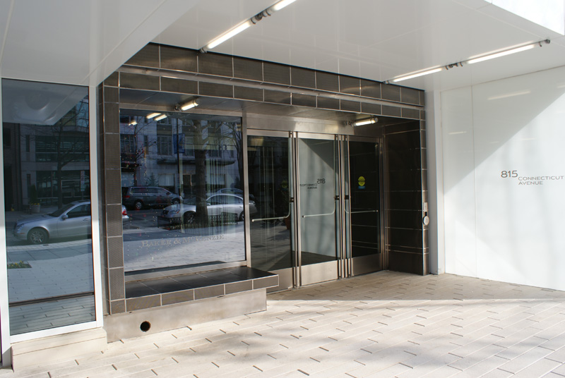 business stainless steel wall panels washington dc